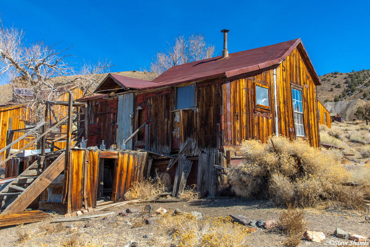 A house in Berlin, a tiny ghost town in Nevada.