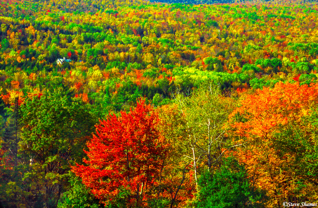 white mountains, new hampshire, new england, fall colors, photo