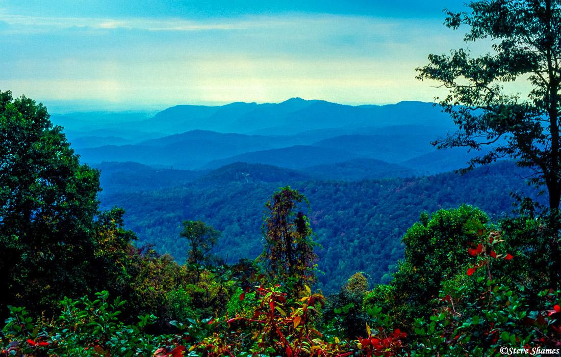 blue ridge mountains, parkway, north carolina, photo