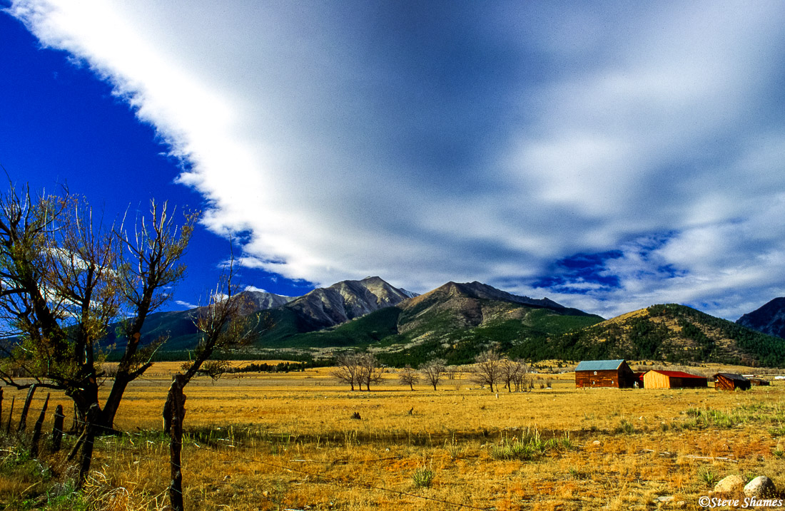buena vista, colorado, pastoral scene, photo