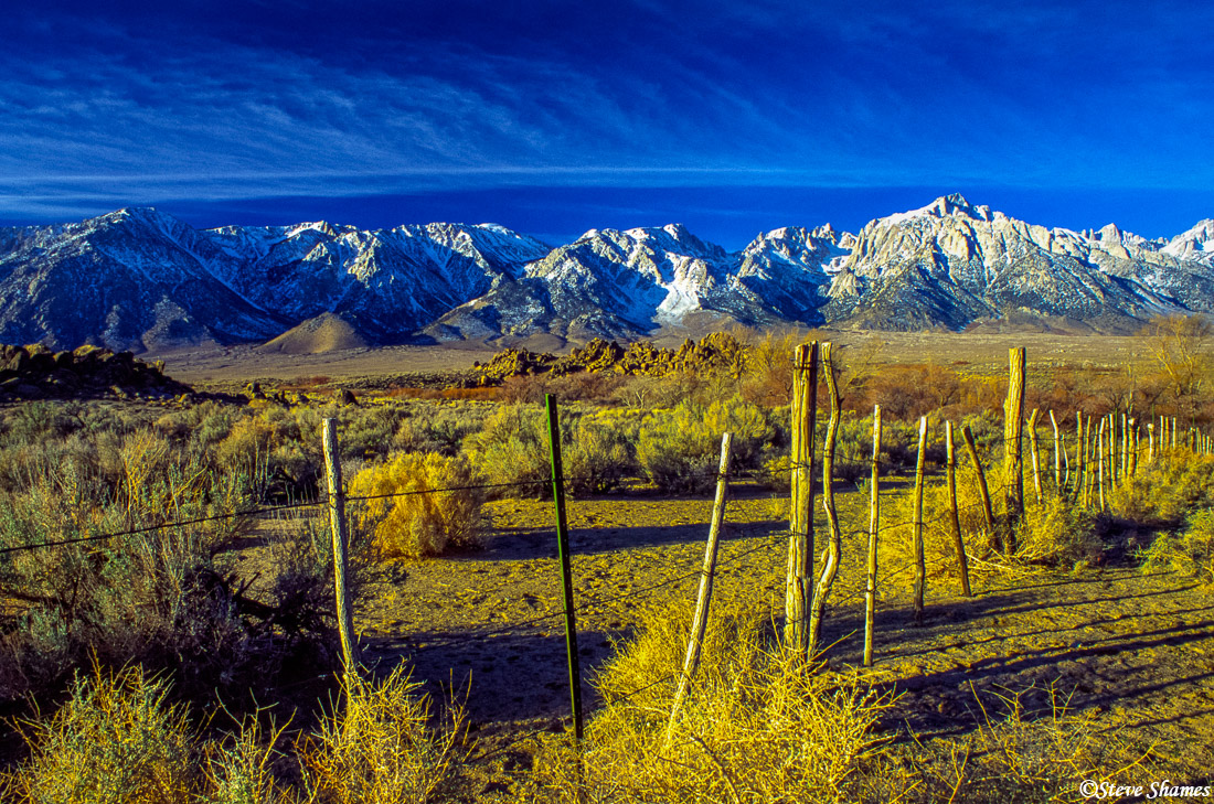 lone pine california, owens valley, photo