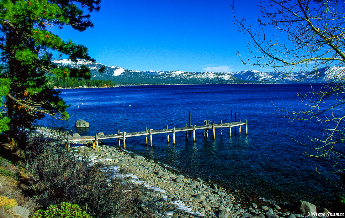 lake tahoe, private pier, photo