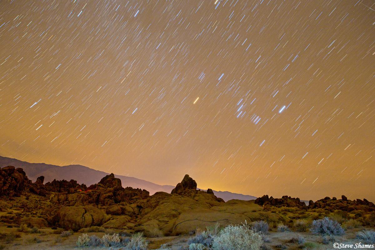 alabama hills, owens valley, california, photo