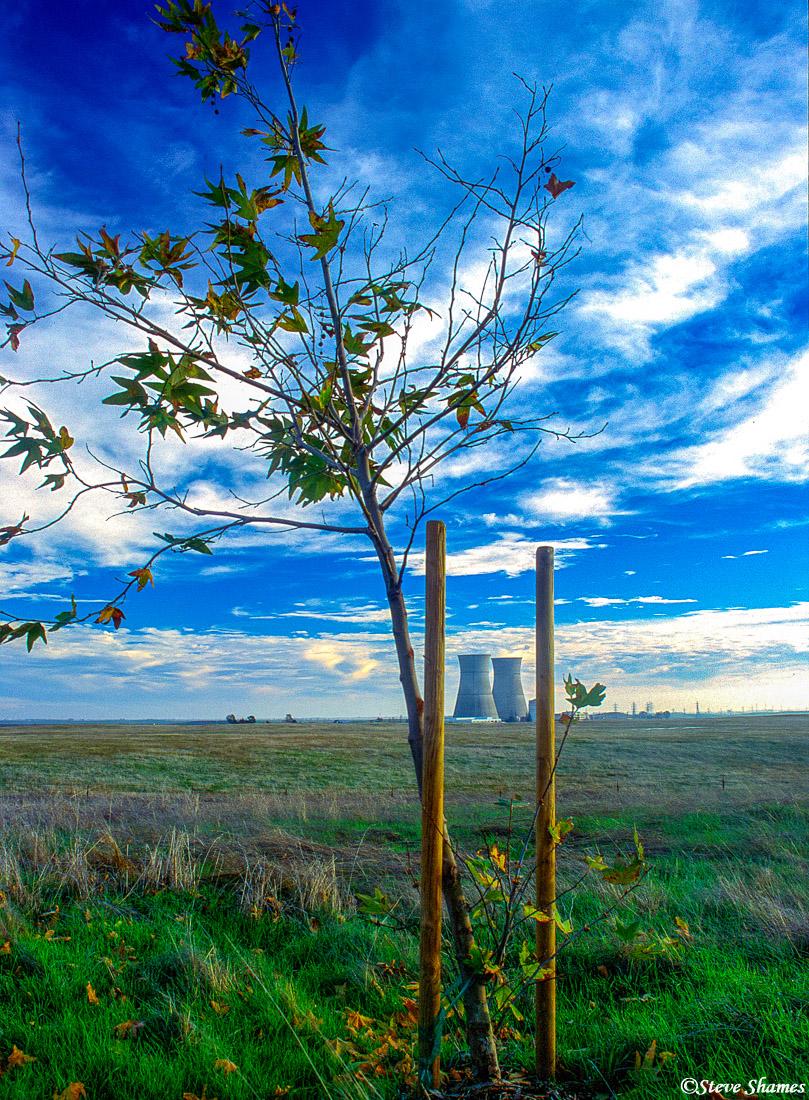 rancho seco, nuclear, power plant, sacramento county, california, photo