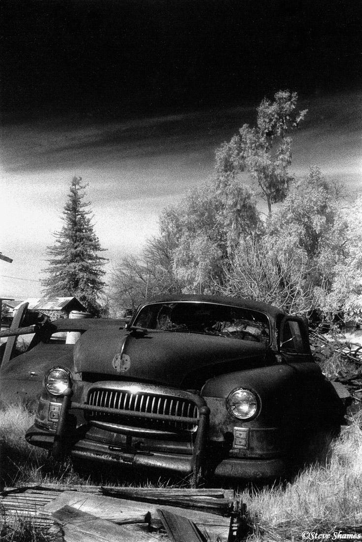 rio linda, california, junked car, photo