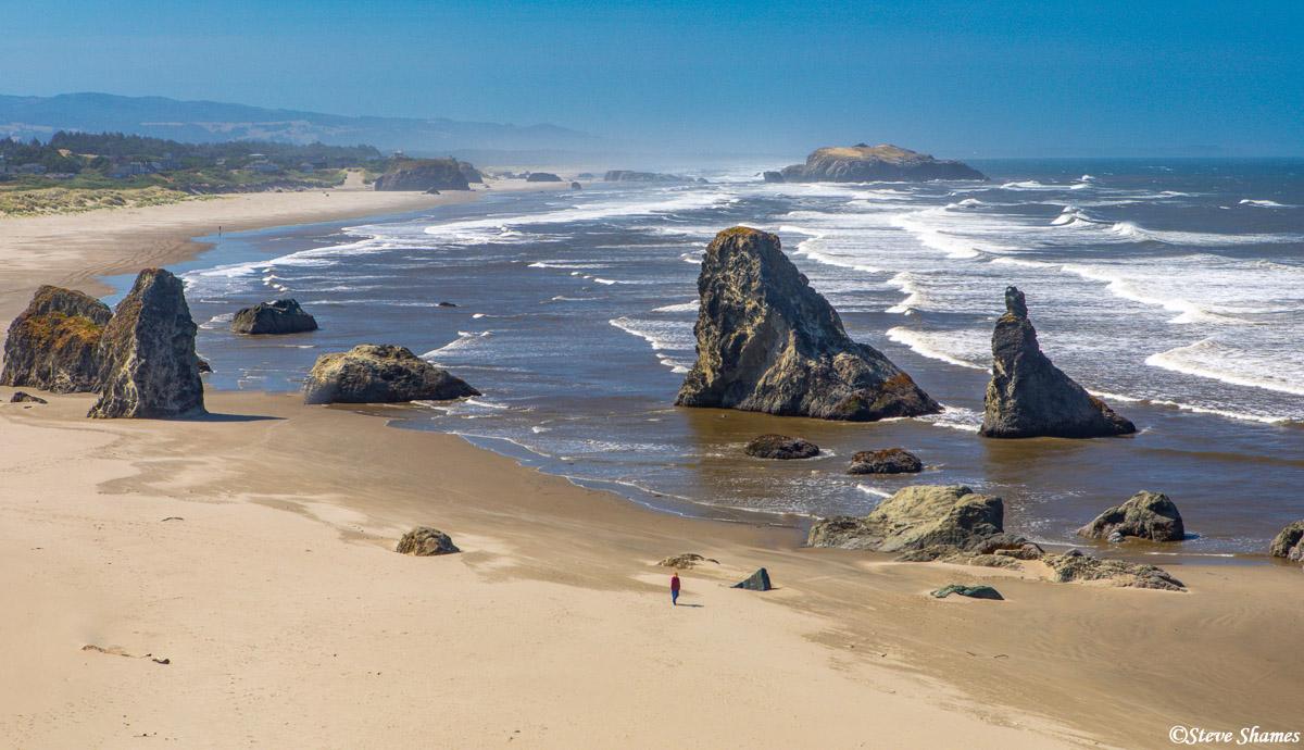 A nice rocky beach along the southern Oregon Coast.