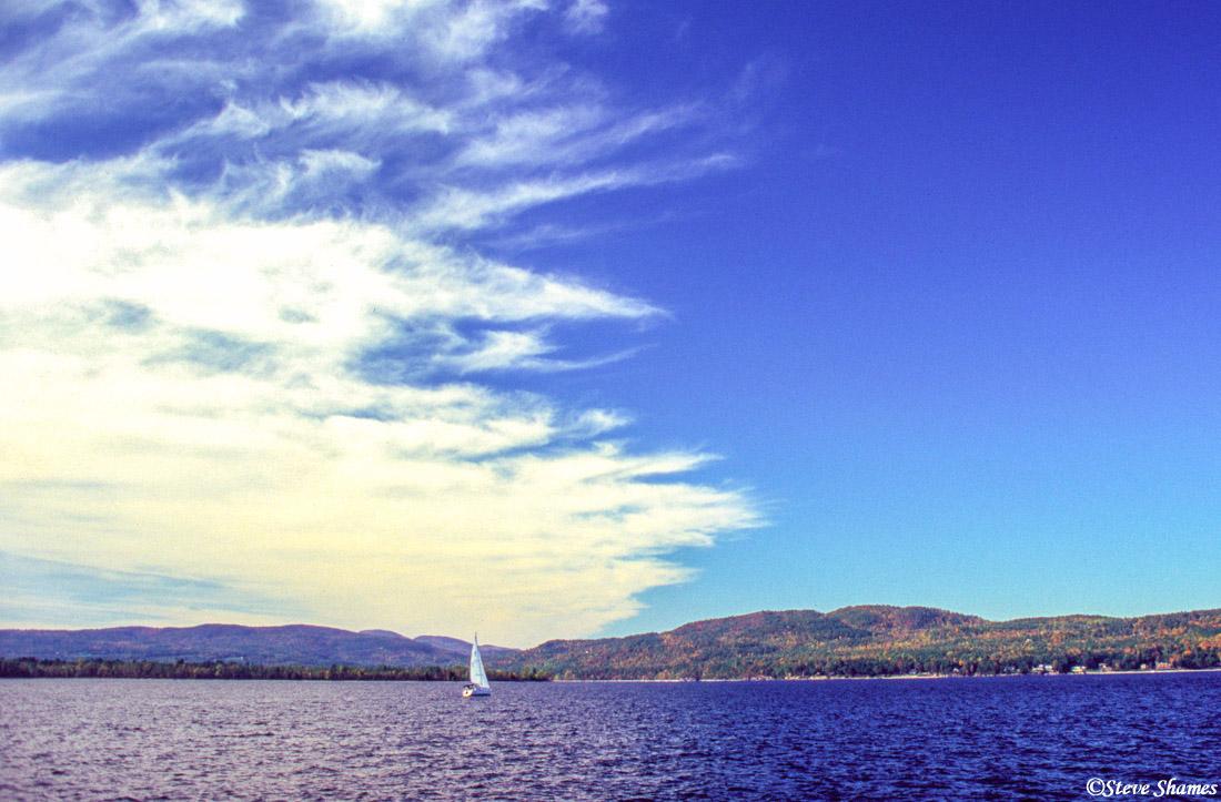 lake champlain, burlington vermont, ferry crossing, photo
