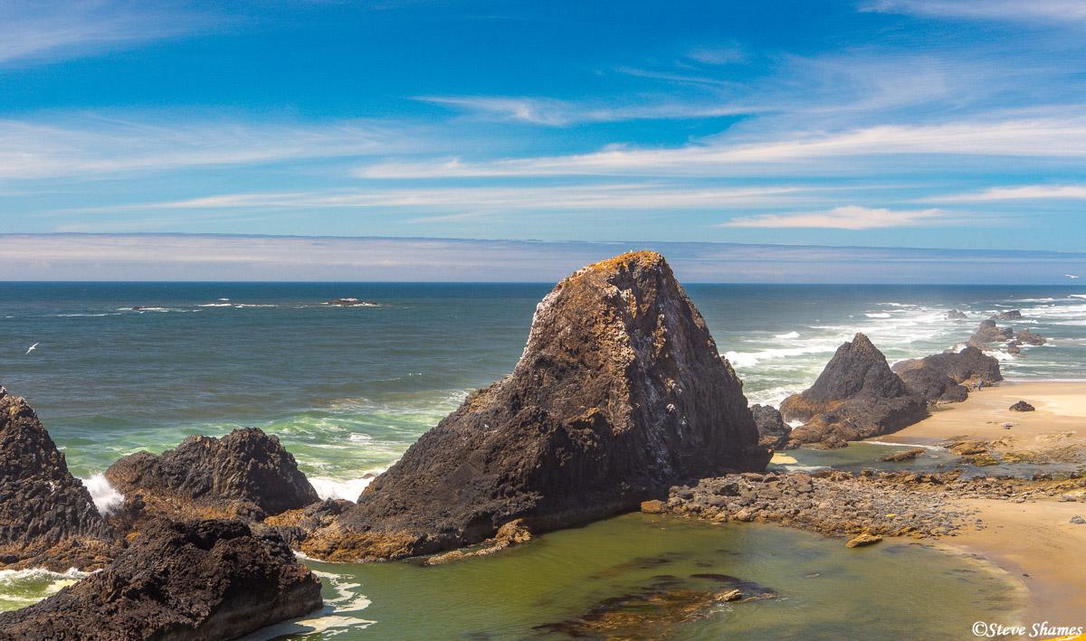 Seal Rock, along the scenic Oregon Coast.