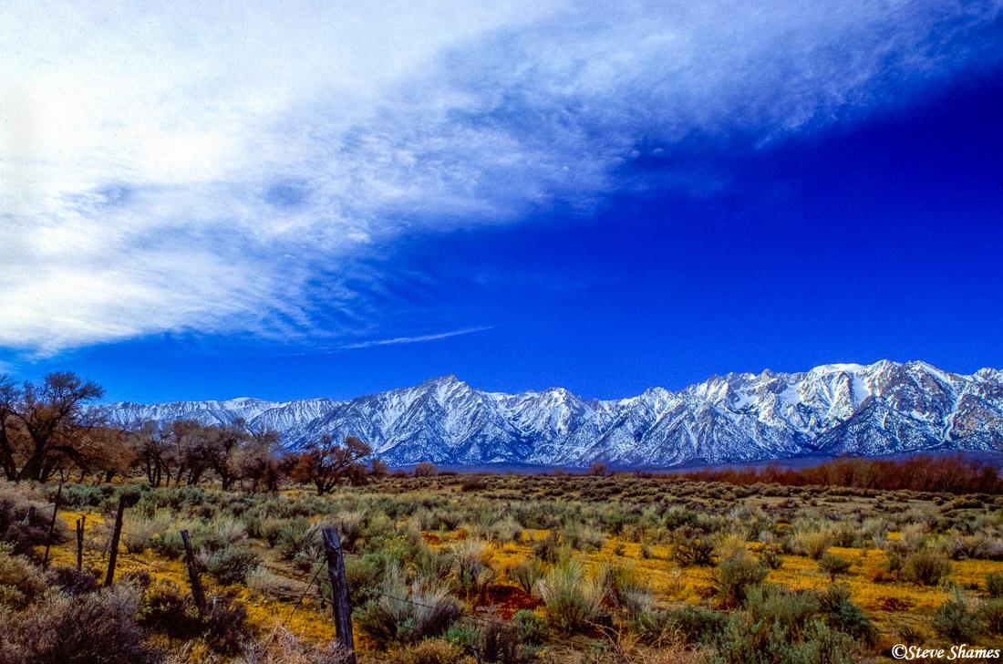 alabama hills, eastern california, photo