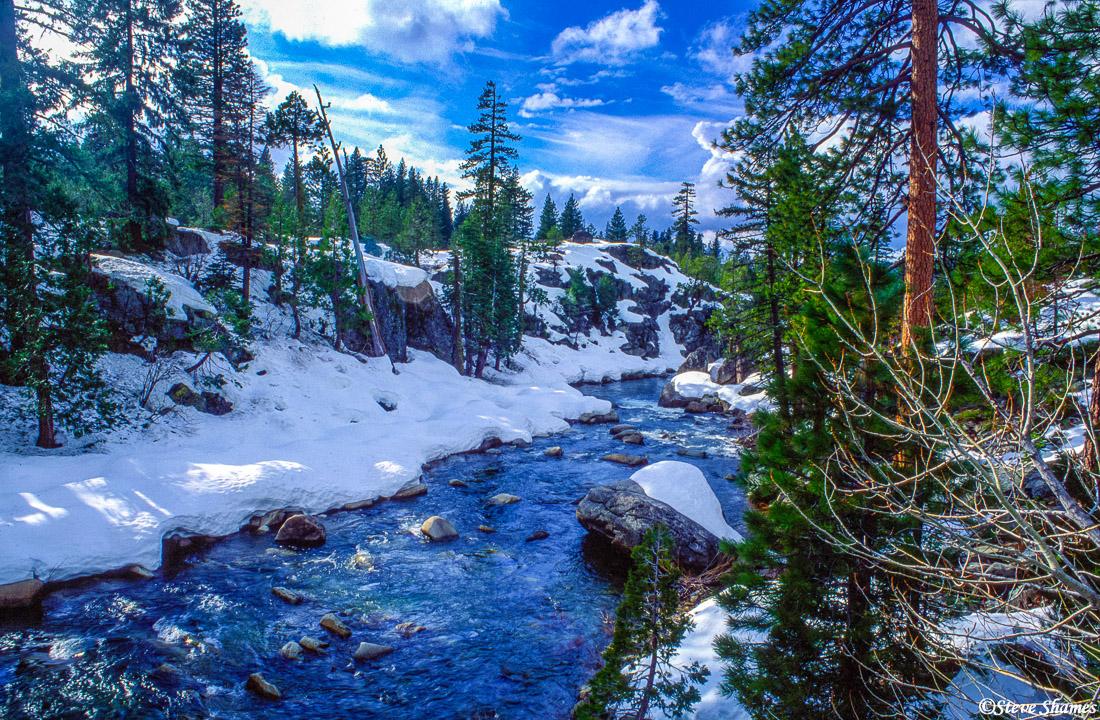 sierra nevada mountains, california, photo