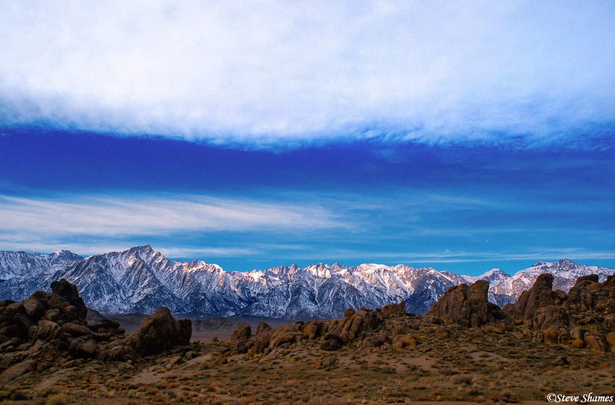 alabama hills, eastern california, sierras, photo