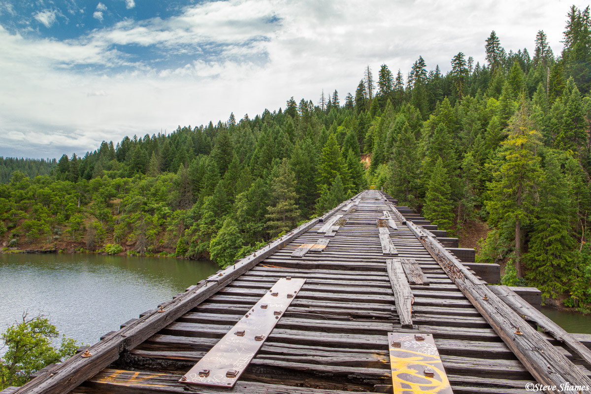 """This is known as the """"Stand by me Bridge"""". Its claim to fame is the movie scene filmed here from the 1986 movie """"Stand by Me""""...."""