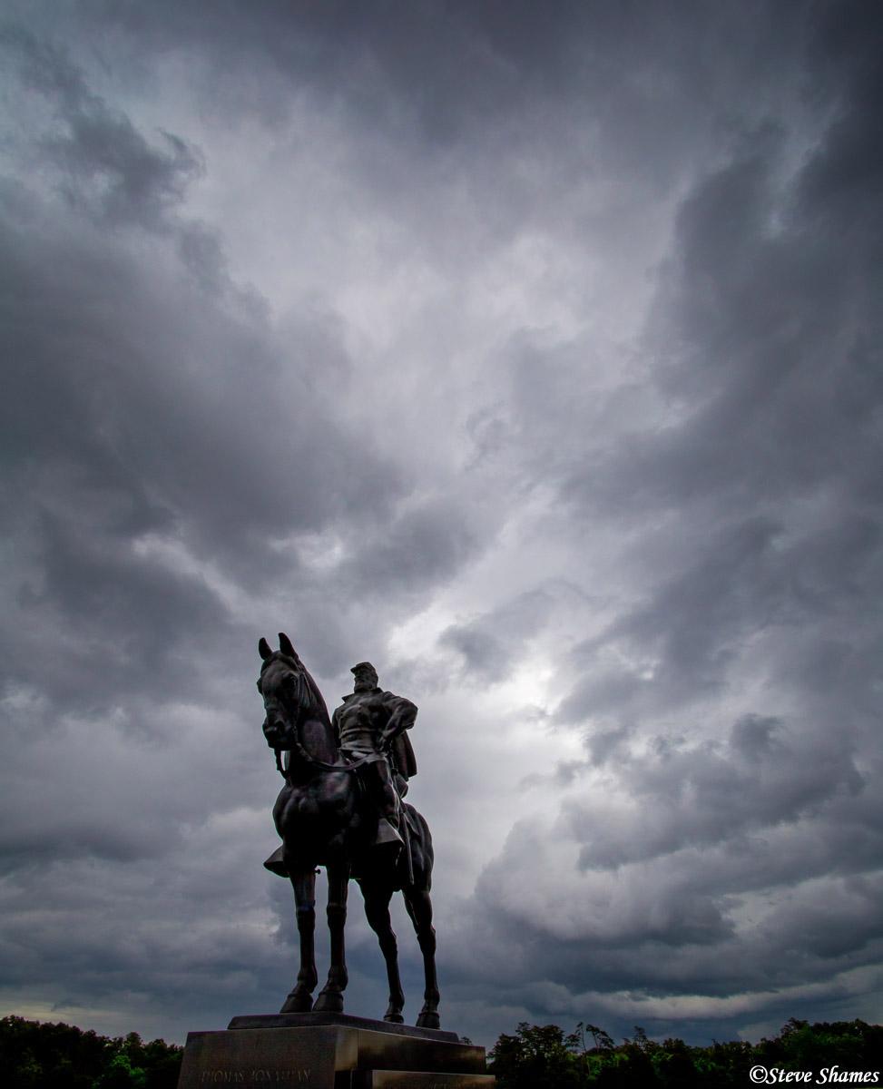 manassas national battlefield park, virginia, stonewall, there stands jackson, , photo