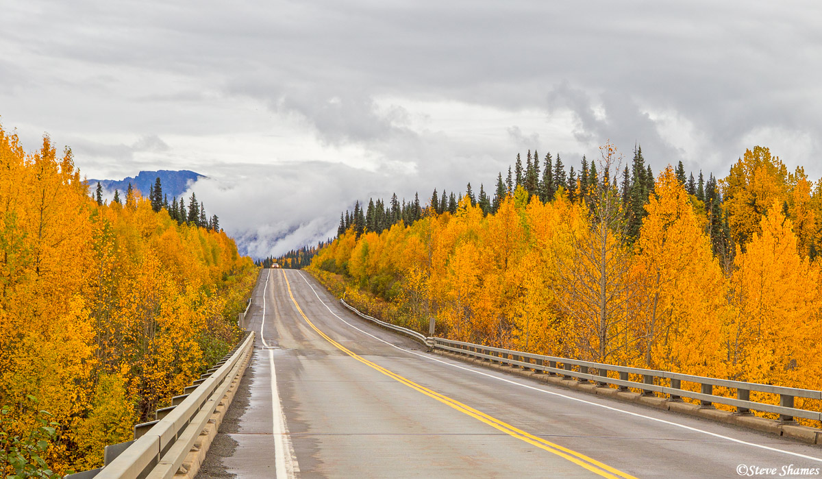 george parks highway, alaska, susitna river, photo