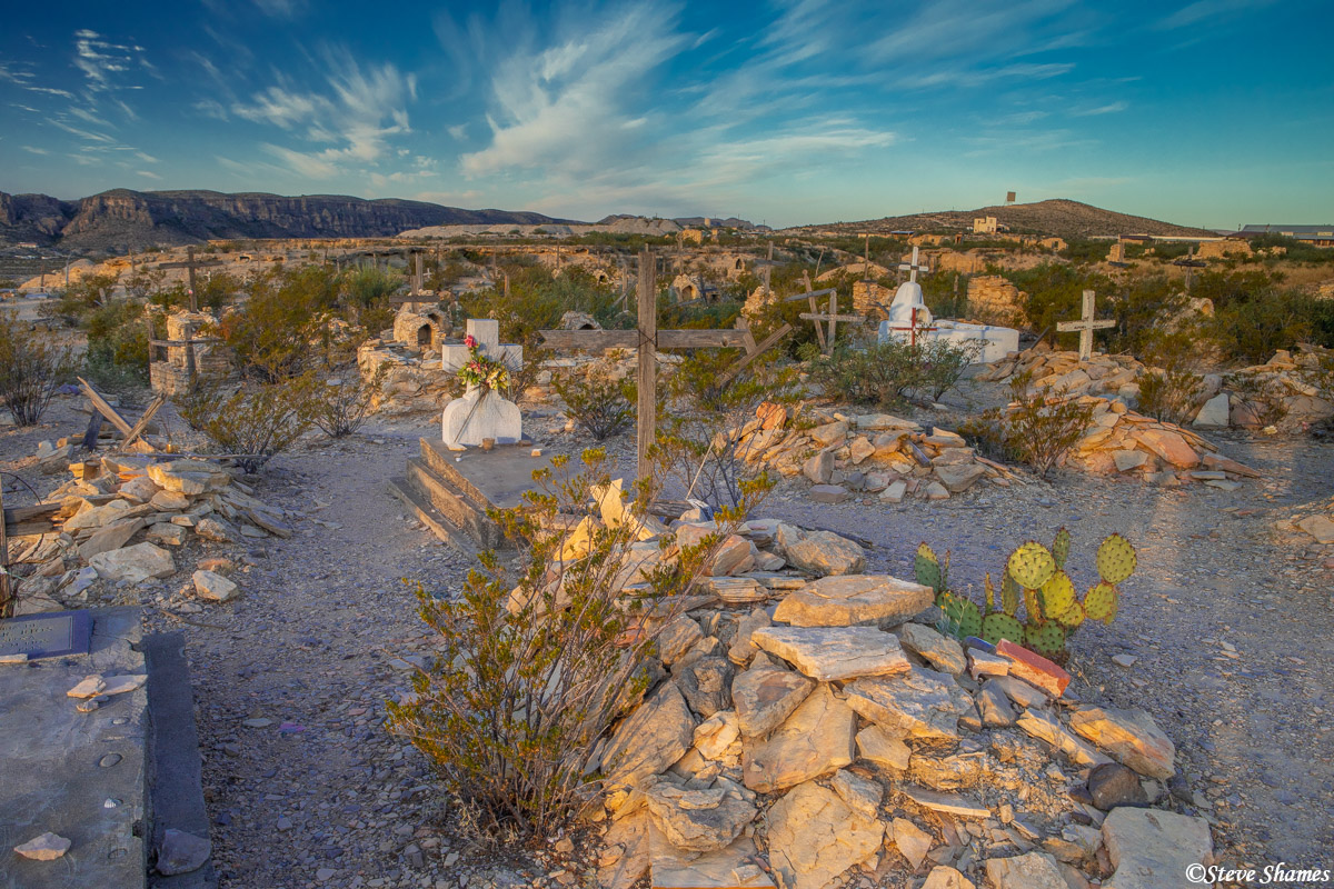 terlingua cemetery, west texas, ghost town, photo