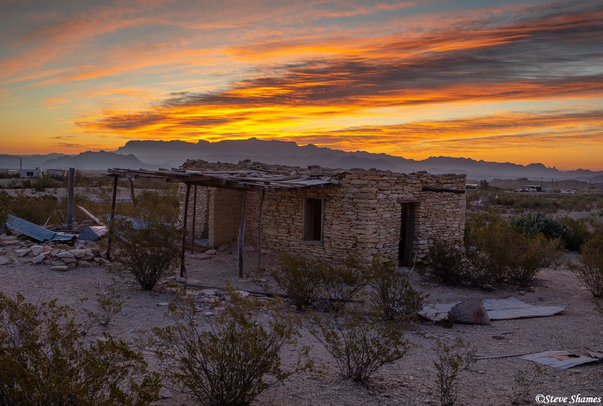 terlingua sunrise, texas, photo