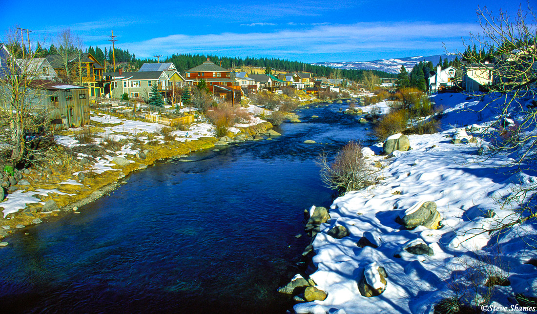 truckee river, california, photo