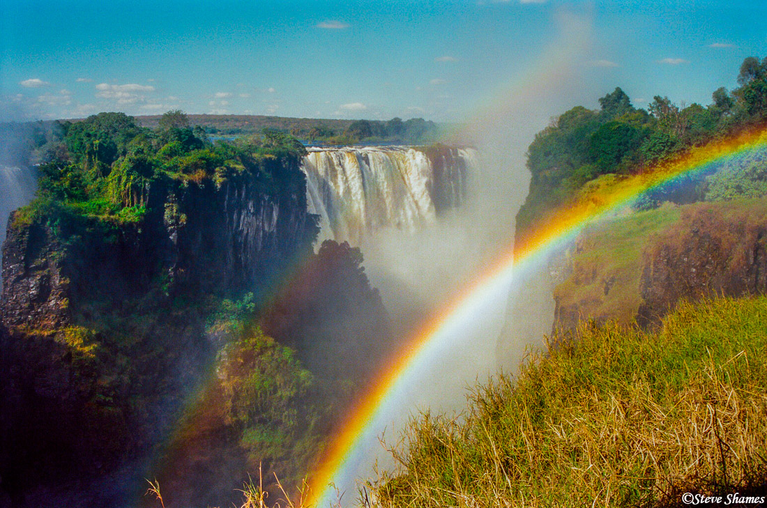 victoria falls, zimbabwe, the smoke that thunders, photo