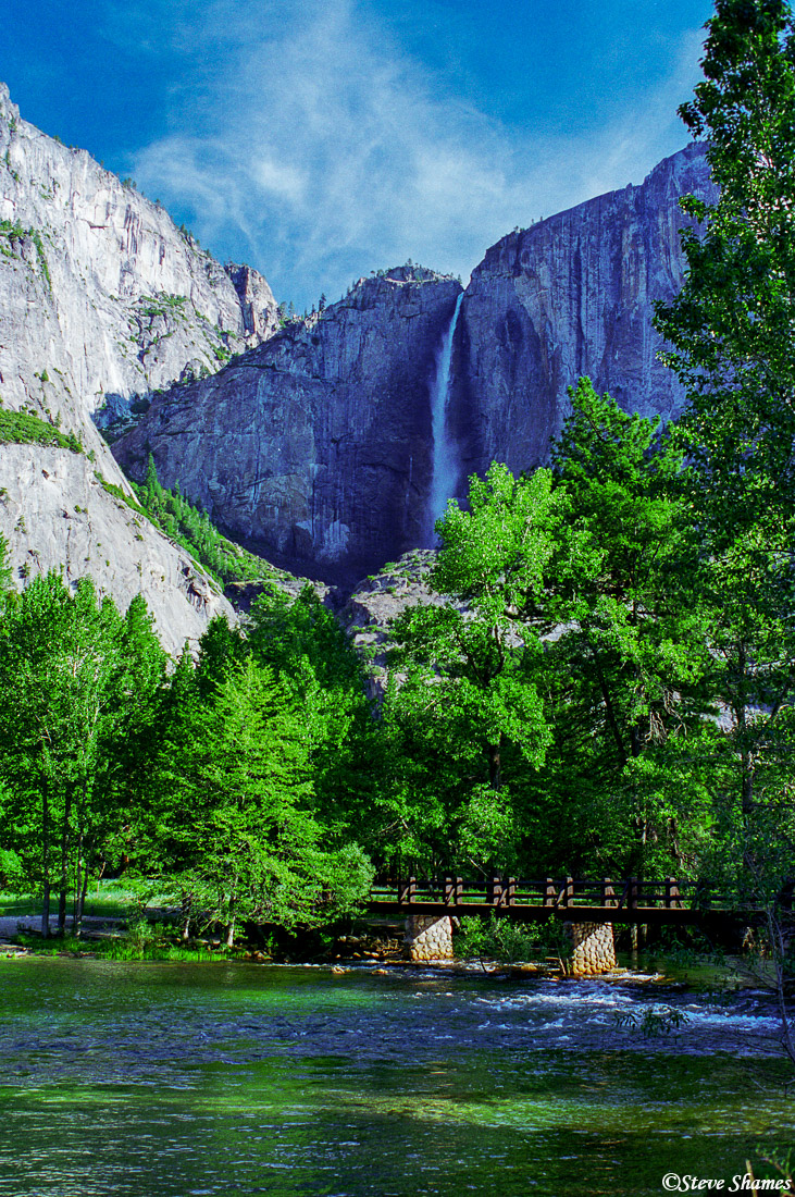 yosemite national park, upper falls, photo