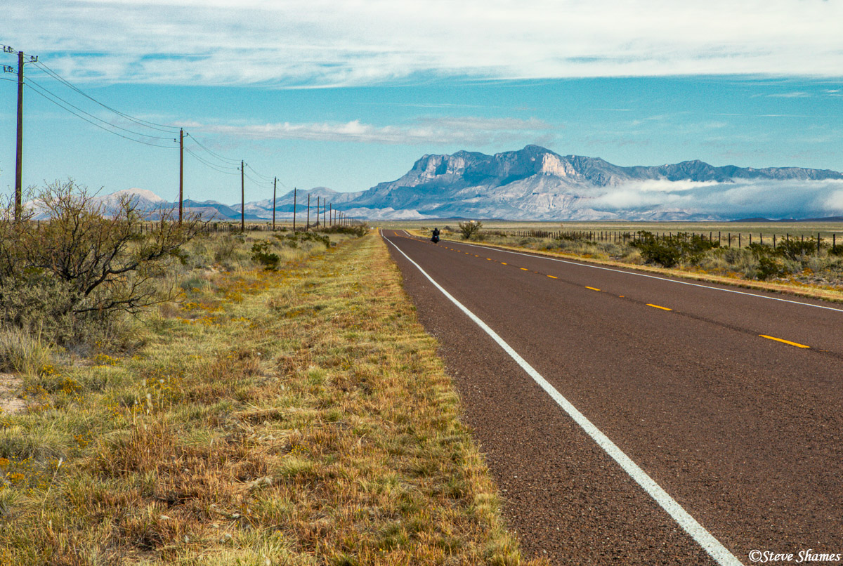 highway 54, west texas, guadalupe mountains, photo